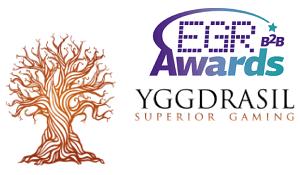 Yggdrasil Gaming gewinnt EGR B2B Award als Slot-Anbieter des Jahres