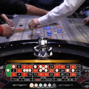 Zweiter Roulette-Tisch von Evolution Gaming bei Hippodrome