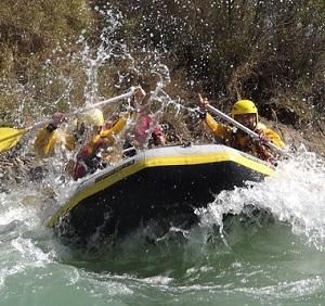 Begeben Sie sich auf ein Wildwasser-Abenteuer