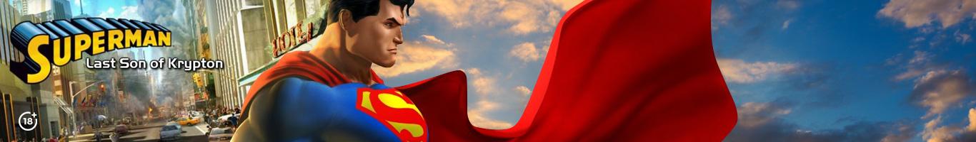 Superman The Last Son Of Krypton Banner