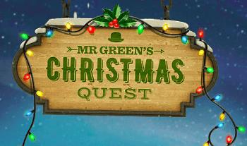 Riesengewinne bei Weihnachtsquest von Mr Green zu holen