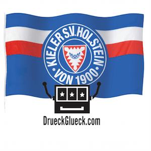 DrückGlück sponsert Fußballverein Holstein Kiel